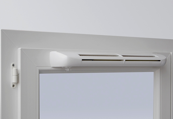 вентиляційна система пластикового вікна