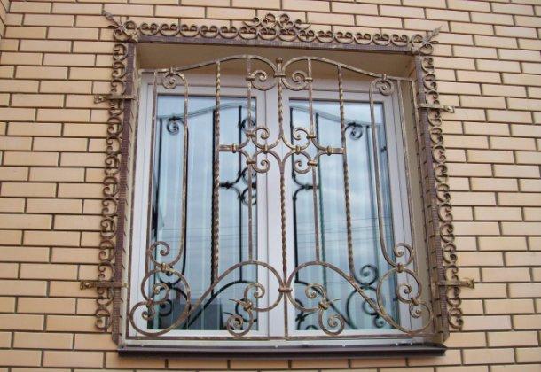 декоративна захисна решітка для вікна