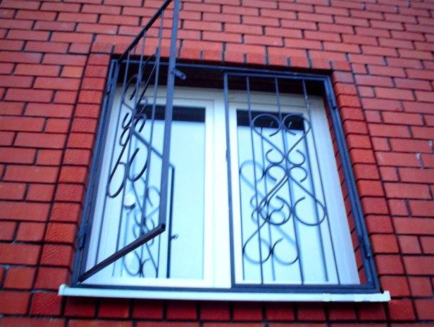 орні металеві решітки на вікна