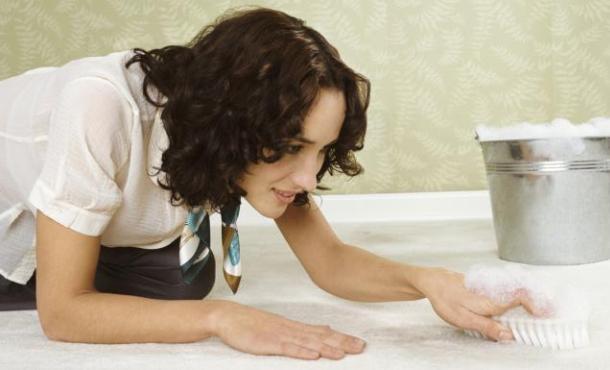 чищення ковроліну своїми руками