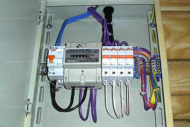 підключення лічильника електроенергії