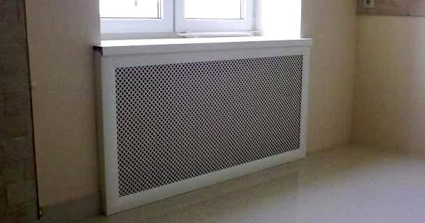 екран на батарею опалення