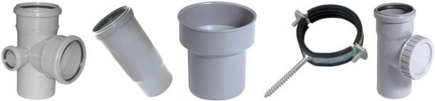 матеріали для заміни каналізаційного стояка