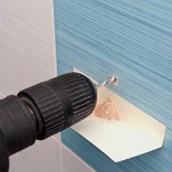 Як просвердлити керамічну плитку?