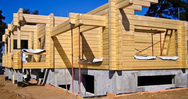 будинок по фінському проекту з клеєного бруса