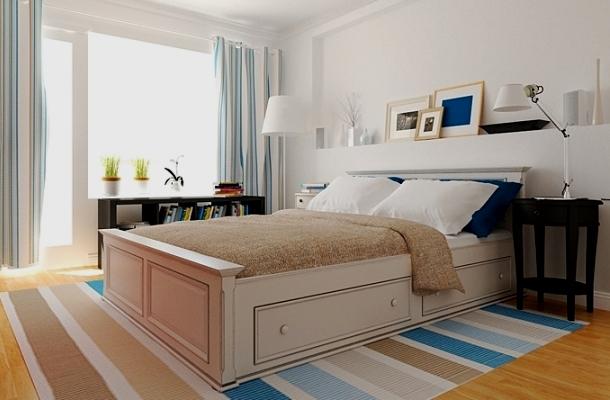 колір стін кімнати в скандинавському дизайні