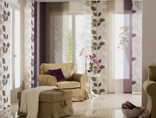 японські штори для квартири