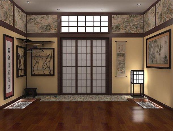 дизайн квартири в японському стилі