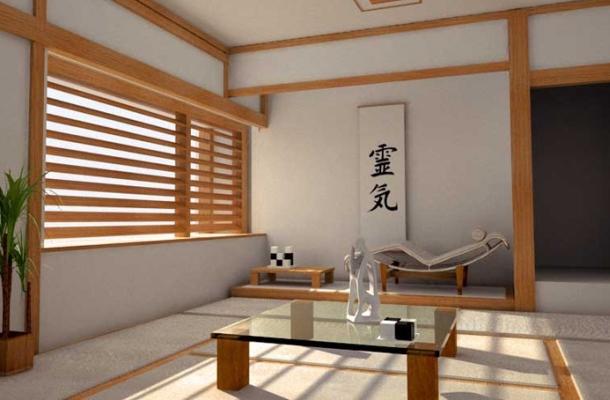 дизайн японської кімнати