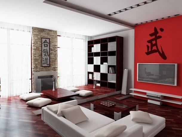 японський дизайн вітальні