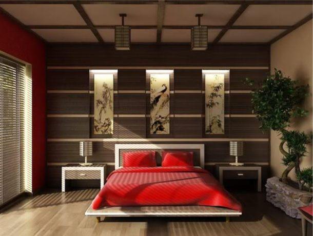 ремонт спальні під японський стиль