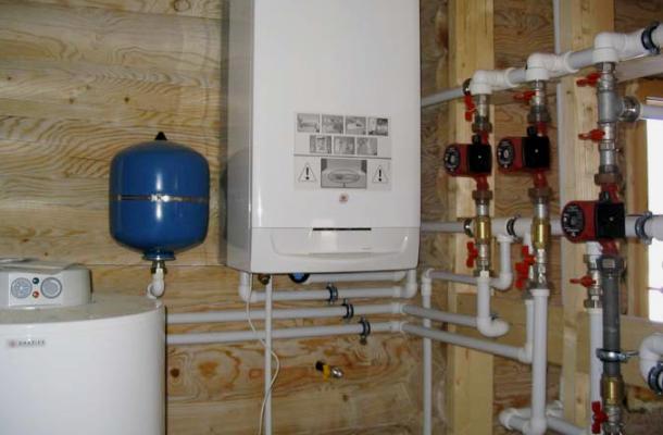 система опалення для будинку
