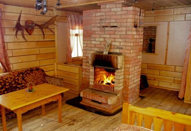 повітряний обігрів дерев'яного будинку