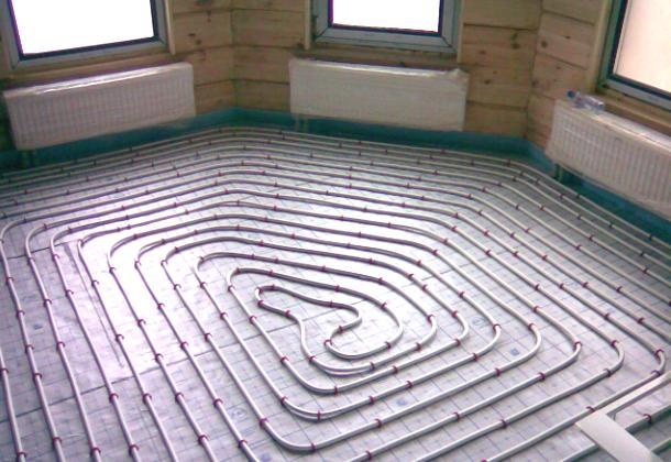 обігрів підлоги в дерев'яному будинку