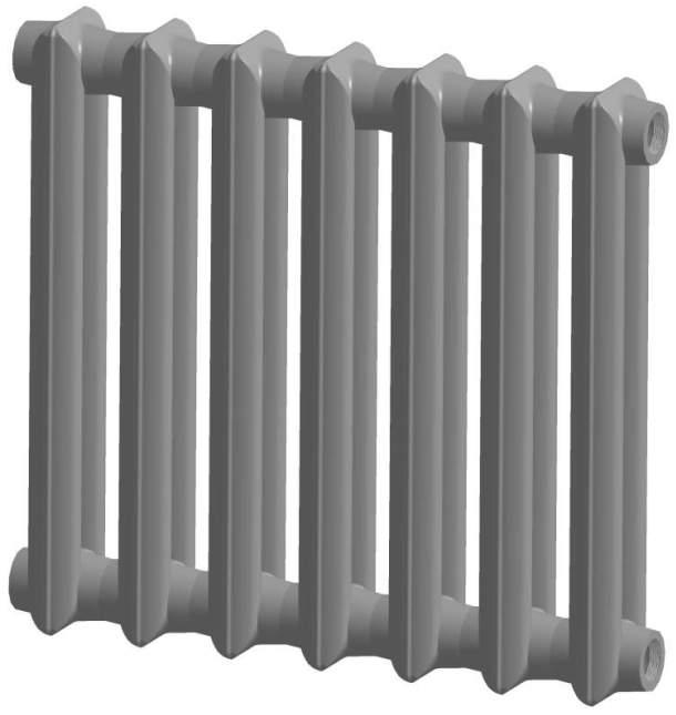 Сучасні чавунні радіатори – технічні характеристики та властивості