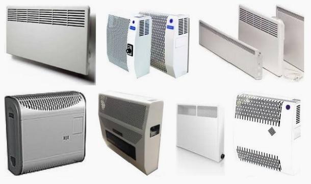 різновиди та конструкції електричних конвекторів опалення