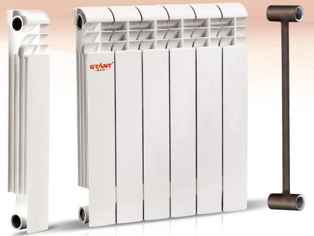 алюмінієві біметалічні батареї для опалення квартири