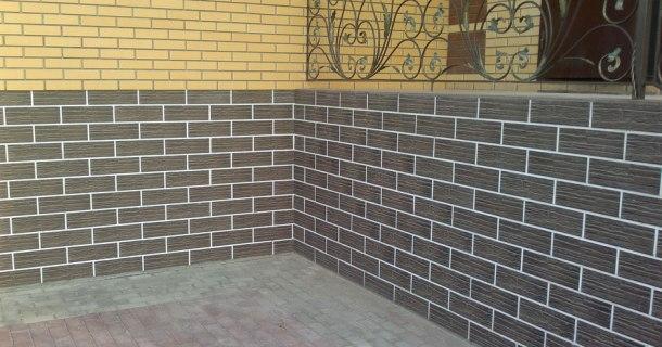 клінкерна плитка для обкладання фундаменту