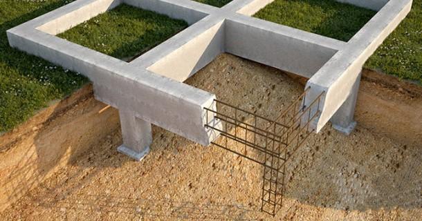 свайний монолітний залізобетонний фундамент конструкція