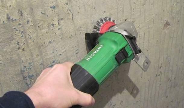 способи очищення стелі від краски