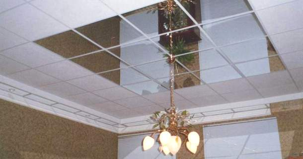 касетна конструкція стелі