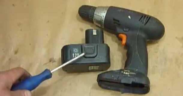 ремонт акумулятора шурупокрута