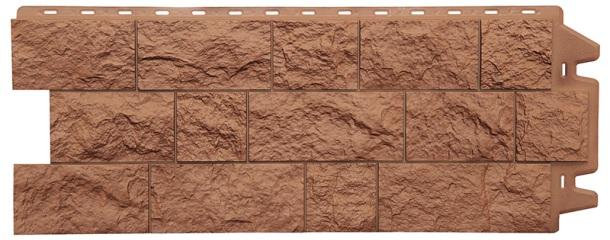фасадні панелі пластмасові під камінь