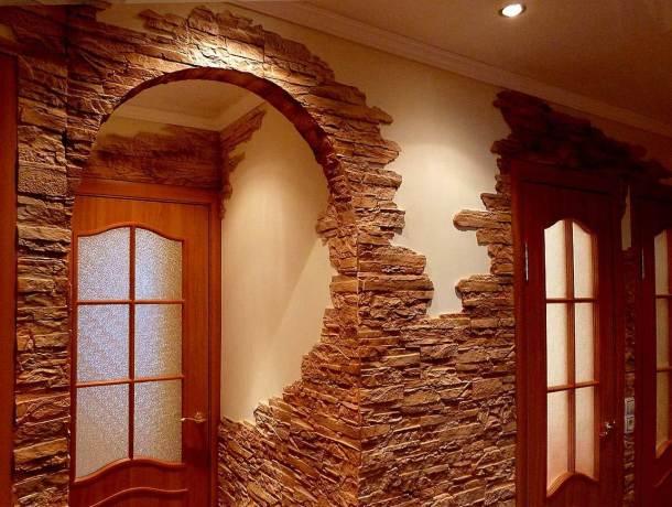дверний проріз натуральний камінь фото