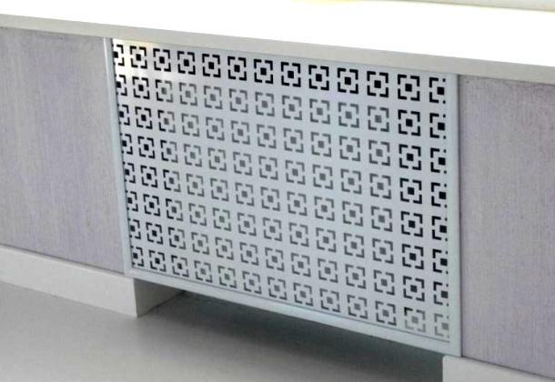 пластикові решітки для радіаторів опалення