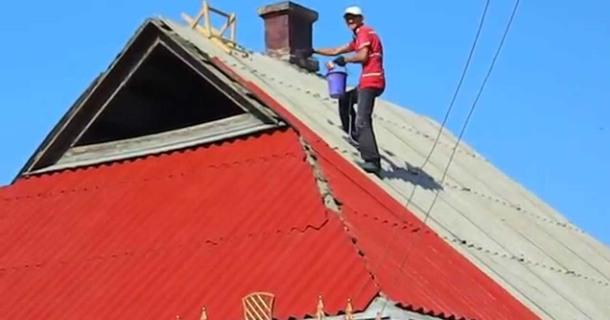 фарбування шиферного даху