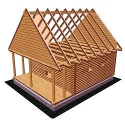 Розрахунок площі перерізу крокв для даху