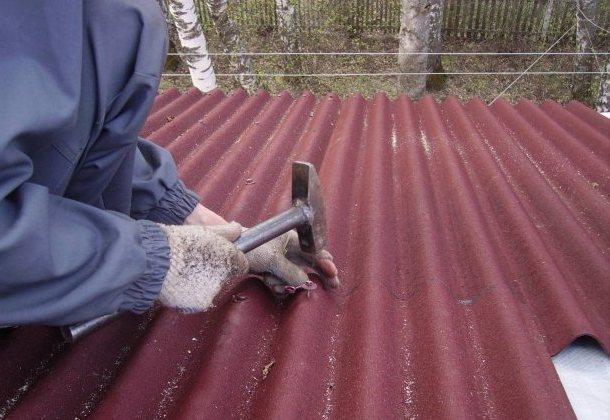 кріплення ондуліну до даху