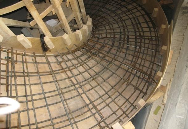 армування сходів з бетону