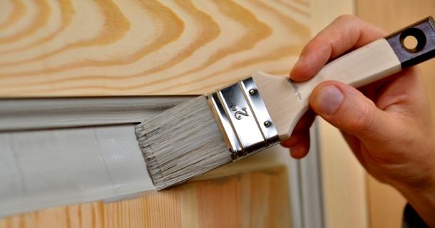 покраска фільонок дверей