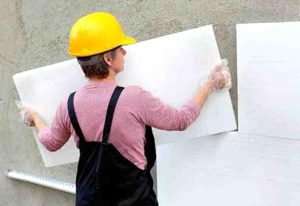 Утеплення стін пінопластом своїми руками – опис технології