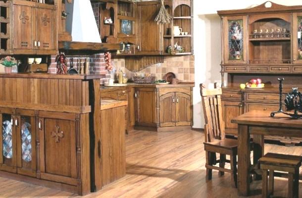 дизайн кухні в кантрі стилі фото