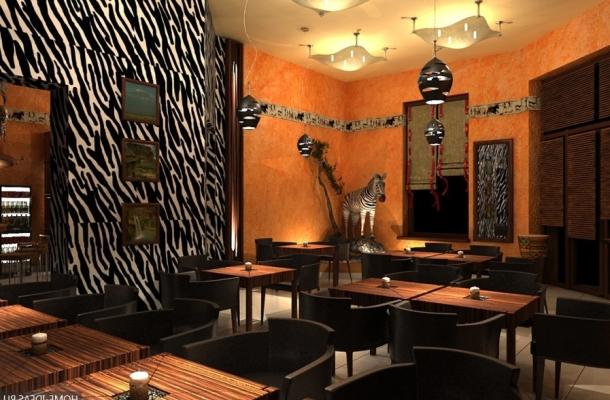 фото кімнати оформленої під африканський стиль