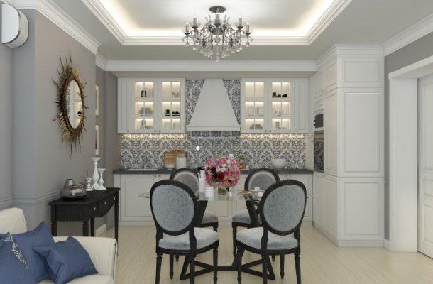 оформлення кімнати в класичному стилі