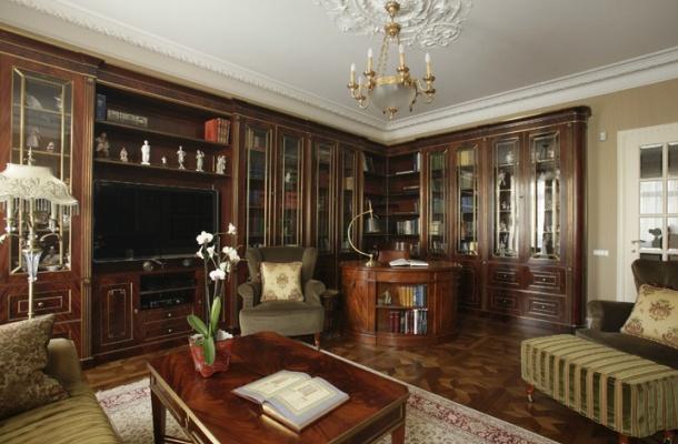 обробка житла в класичному стилі