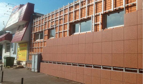обробка стін будинку керамогранітом своїми руками