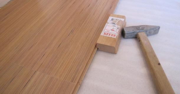 прийоми вкладання ламінату на підлогу
