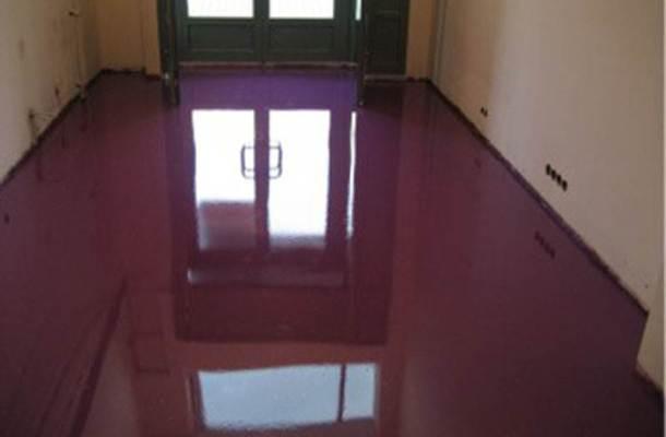 заливна самовирівнююча підлога
