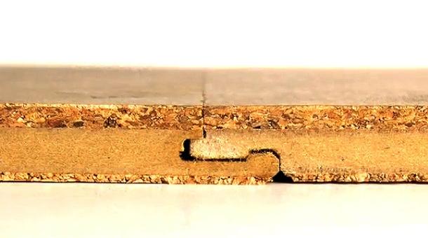 кріплення плит коркової підлоги