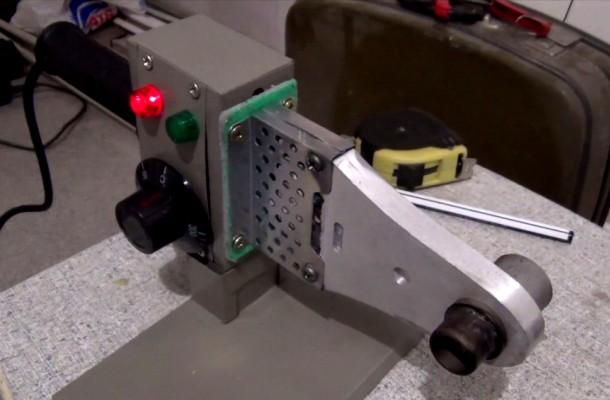 паяльник для поліпропіленових труб електромуфта