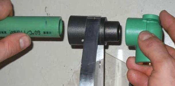 пайка пропіленових труб електромуфтою