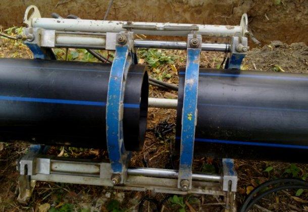 зварювання поліетиленових труб низького тиску
