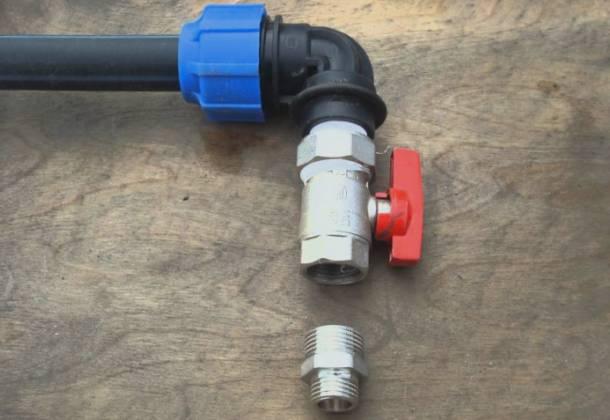 застосування поліетиленових труб низького тиску в побутових умовах і на присадибних ділянках