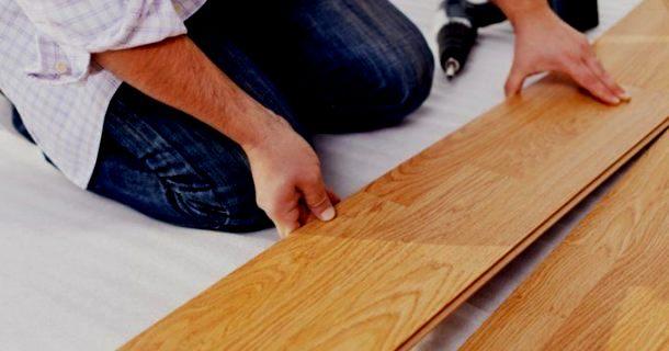 правильне вкладання паркетної дошки на підлогу своїми руками