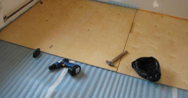 підготовка підлоги під паркетну дошку