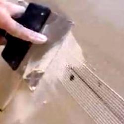 шпаклювання швів між листами гіпсокартону